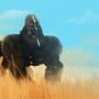 mutant gorilla by mugyamugya