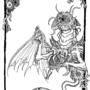 Lovecraftian flyer by xcesarx