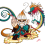 Sun WuKong, the monkey king! by FUJIMON