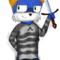Cat Holding A Sword...