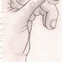 My Hand by KawaiiGrapefruit