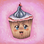 Ultra kawaii desu cupcake by Fifty-50