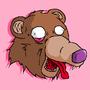 Bear Head by FilthyNeckBeard