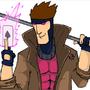 Gambit by mickandgreg
