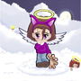 Chibi Angel by DrK2skater