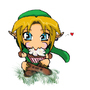 Link Eating A Cupcake =) by Denners88