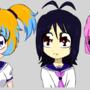 3 Main Characters Concept by Sakurawind