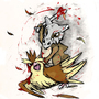 Pidgey vs Cubone by edwardelric532