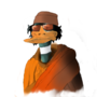 Gaddafi Duck by SugarCain