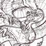 Good Luck Dragon - Inked