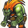 Depressed Blanka by Sabtastic
