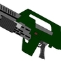 Pulse Rifle by Maccamuffin