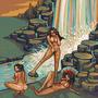 Indias na cachoeira by JinnDEvil