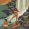 Indias na cachoeira