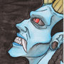 Blue Demon by BeneathTheFloorboard