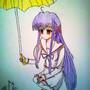 anime girl by jm123