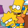 Bart and Lisa by Tarantulakid96