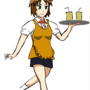 Nameless Waitress by Warbrain