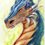 Dragon coloured by BlackAssassiN999