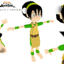 Toph in 3 DEEEE by studio-nightbird