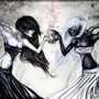 The Yin Yang Dancers by XxCrimsonMoonxX