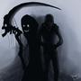 Death Follows Me by Rhunyc