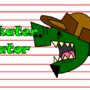 Skater Gator by punkrocklock