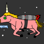 Space Unicorn by MrFiggins