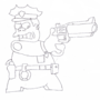 Chief Wiggum Sketch by Dean
