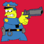 Chief Wiggum by Dean