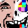 LAUGHING MAN by siike92