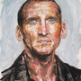 Christopher Eccleston by pencilbandit