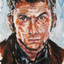 David Tennant by pencilbandit