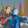 shepard and liara by Rennis5