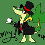 Snivy by DominicPain