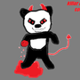 the killer panda by SheaStyles
