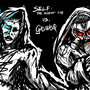 Self Vs Gas. by Kuoke