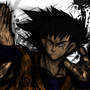 goku sf4 style by SpanglishHorse