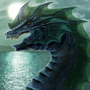 Water Dragon by Louise-Goalby