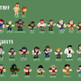 Newgrounds Sprite guys! by AlmightyHans