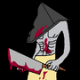 Pyramid Head by skeletonking1234