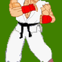 sf3HD sprite ryu by SpanglishHorse