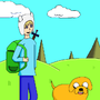 Finn and Jake by nsdvjp