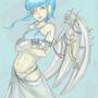 blue angel by Applephoenix