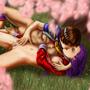Sakura x Athena by thespook