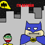 All Batman movies in two words by DrunkMonkey77