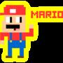 Mario >:C by RogerLOX