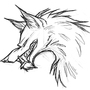 wolf by sanju7