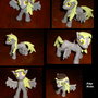 Clay Derpy Hooves by PikaRobo