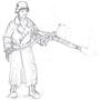 German Machinegunner by InsaneBrutality